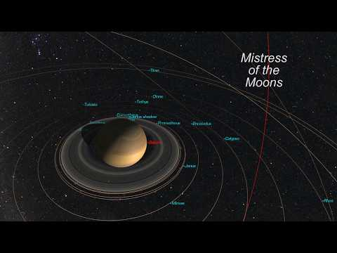 Saturn Moons Could Host Life, Cassini Probe Finds [film clip]