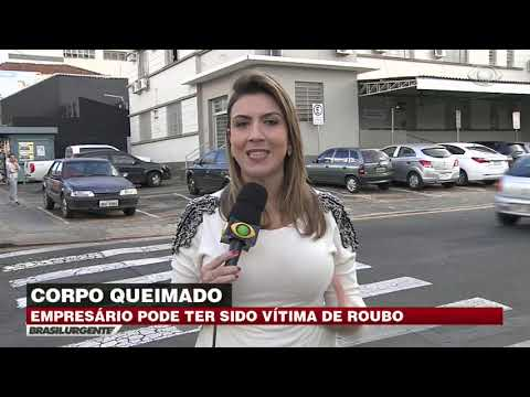 Corpo carbonizado é encontrado no interior de SP