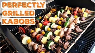 How to Make Kabobs on a Grill