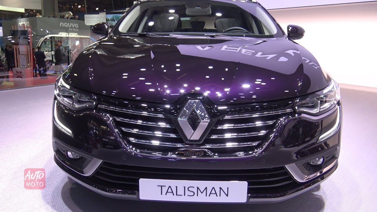 2019 renault talisman exterior and interior walkaround 2018 paris motor show youtube. Black Bedroom Furniture Sets. Home Design Ideas