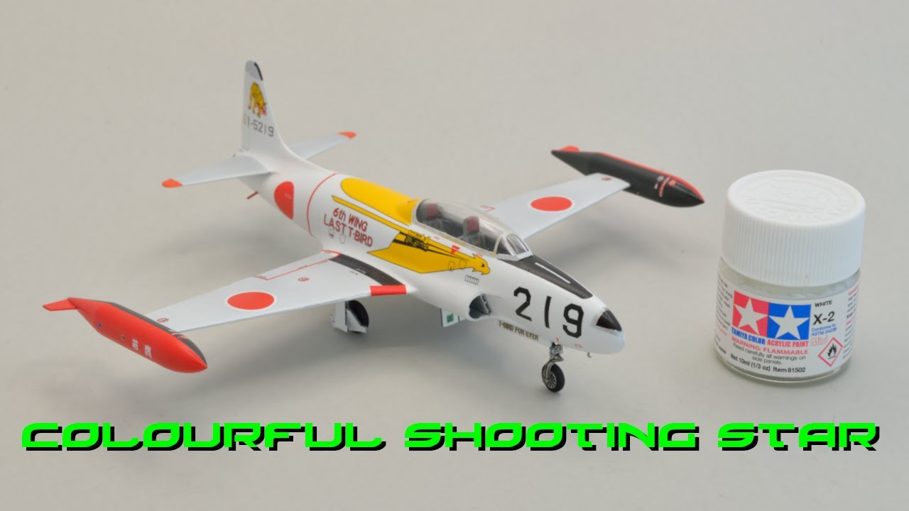 Hasegawa 1/72 T-33A Shooting Star Build-log and Reveal