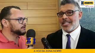 Após confusão, Alexandre Frota concede entrevista ao Jornal Z Norte
