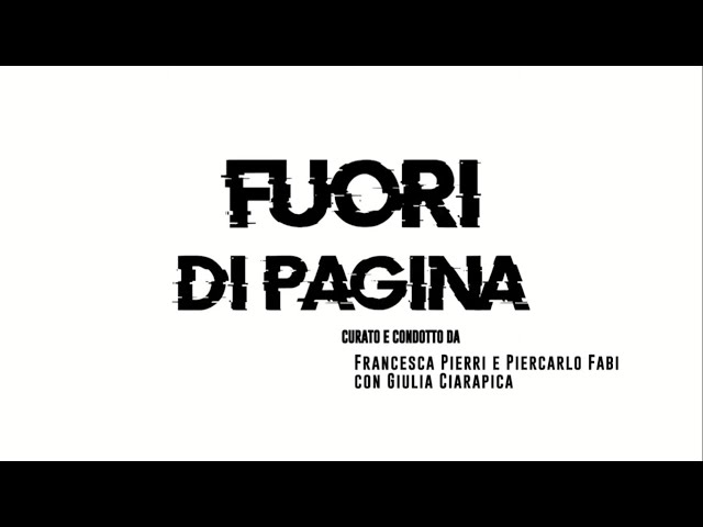 Fuoridipagina - Incontri presenta un noir a quattro mani di Piera degli Esposti con Giampaolo Simi