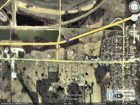 Cahokia Mounds Virtual Google Earth Tour