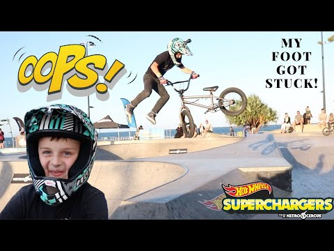 First Nitro Circus/Hotwheels Supercharger Competition In Australia!