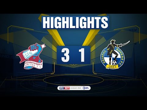 HIGHLIGHTS: Scunthorpe United 3-1 Bristol Rovers