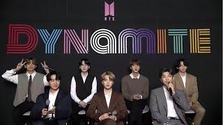 Gambar cover BTS (방탄소년단) 'Dynamite' ONLINE GLOBAL MEDIA DAY (+ENG)
