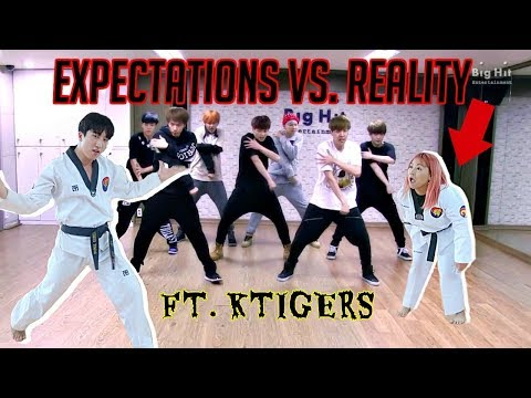 EXPECTATIONS VS. REALITY BTS BOY IN LUV ft. KTIGERS!
