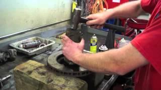 100 Series Land Cruiser Front Brake Rotor and Wheel Bearing Install