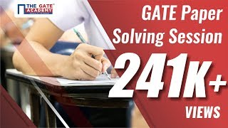GATE Paper Solving Session for Maths and General Aptitude