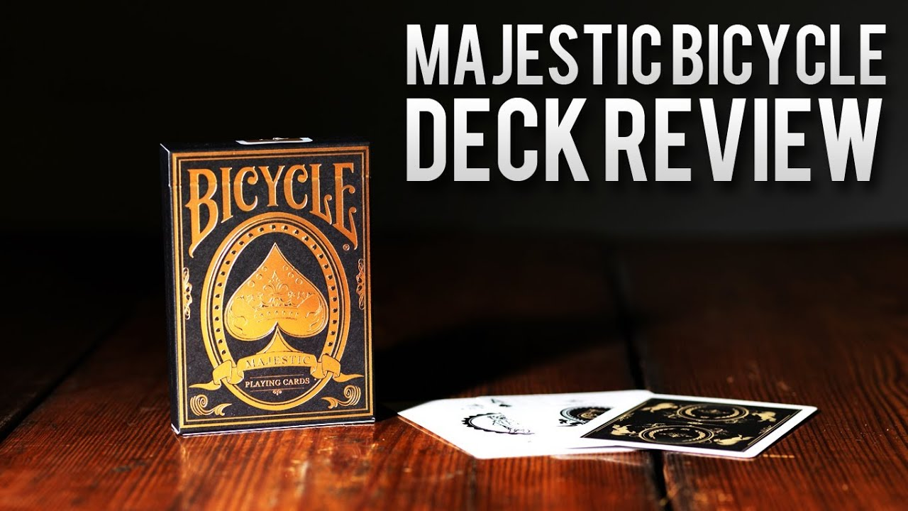 Deck Review Bicycle Majestic Deck Of Playing Cards Youtube