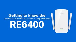 Linksys Official Support - Linksys RE6400 AC1200 BOOST EX WiFi Extender