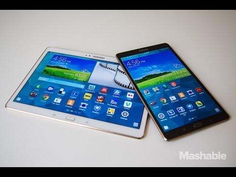 Samsung Galaxy Tab S vs. Apple's iPad Air Review | Mashable