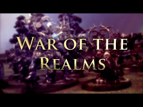 Chaos vs Dark Elves Age of Sigmar Battle Report - War of the Realms Ep 105