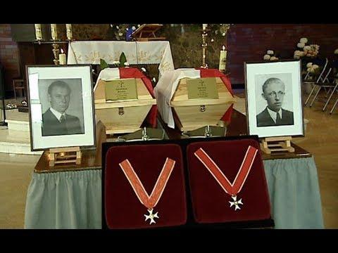 Michał Zygo i Leopold Rząsa – pogrzeb Żołnierzy Wyklętych