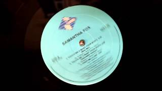 "Samantha Fox -Touch Me (I Want Your Body)  (12"" Dance Blue Mix)"