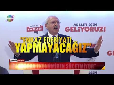 """Kılıçdaroğlu: """"Enkaz edebiyatı yapmayacağız"""""""