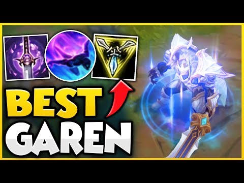 THE GAREN BUILD THAT CAN SOLO CARRY ANY GAME! WIN BY YOURSELF WITH THIS STRAT! - League of Legends