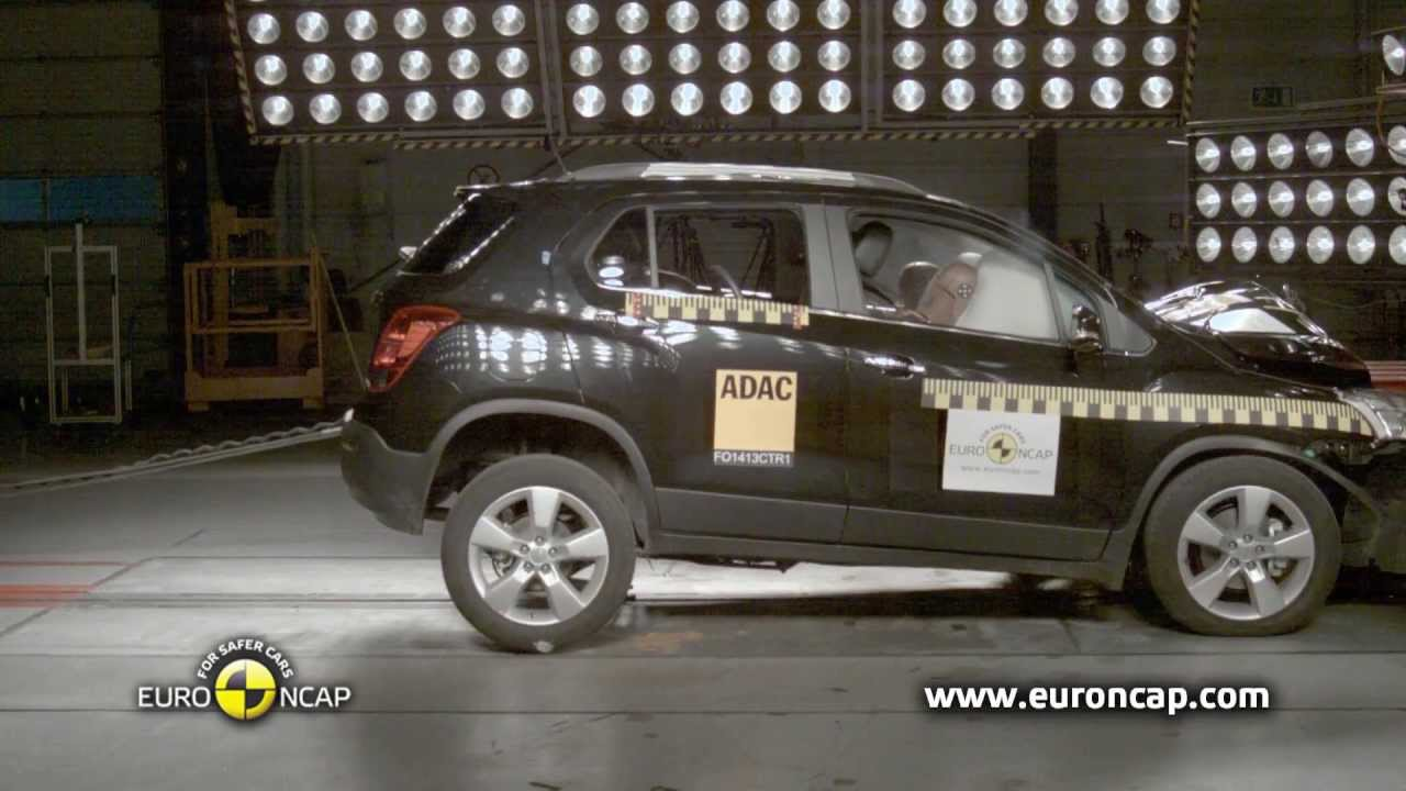 Chevrolet Trax EuroNCAP çarpışma testinden beş yıldız aldı