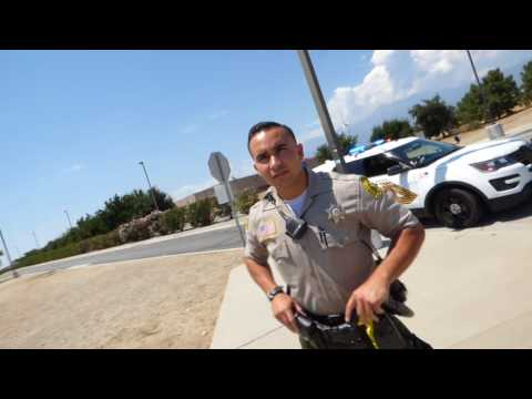 West Valley Detention  Center, SB Sheriff D. Martinez, Acting like a D, 1st Amend Audit