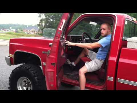 Lifted Chevy Silverado For Sale >> 86 chevy k10 revving - YouTube