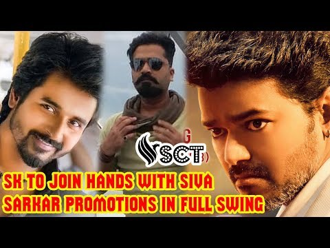 SivaKarthikeyan's Next With Siva | SARKAR Promotions in Full Swing