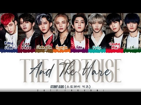 STRAY KIDS – 'The Tortoise and the Hare' (토끼와 거북이) Lyrics [Color Coded_Han_Rom_Eng]