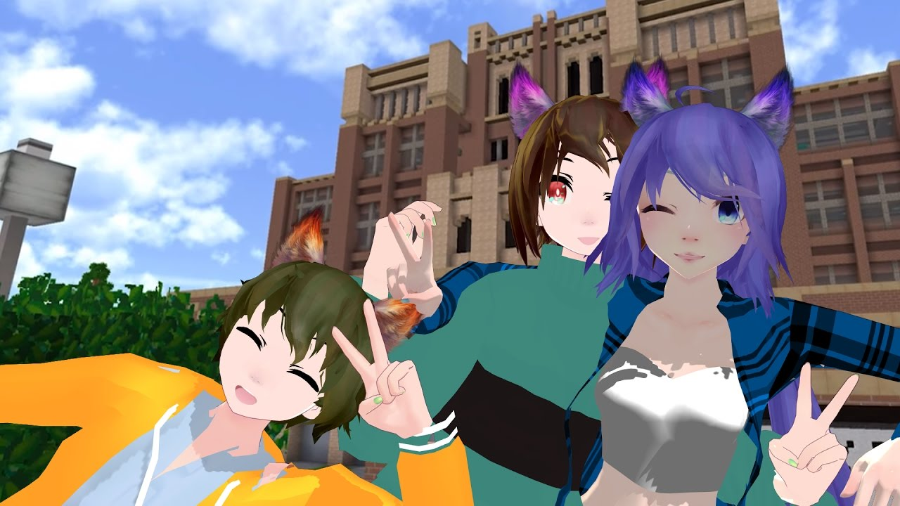 [MMD x PDH] Daniel, Dottie and Rylan [Model Test] by Louis The White Wolf
