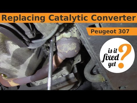 How To Fix Catalytic Converter Without Replacing >> anti pollution Fix Peugeot Citroen, psa diesel .Exhaust