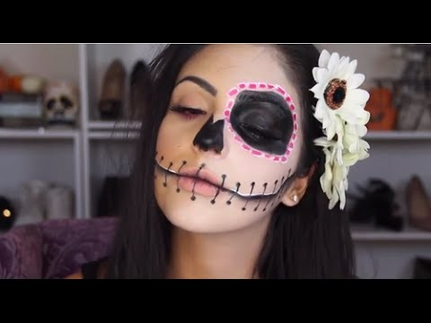 Maquillaje para halloween f cil youtube - Maquillage para halloween ...