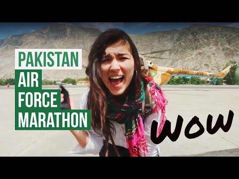 When The PAKISTAN Air Force Invites You To A Mountain Marathon