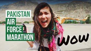 When The PAKISTAN Air Force Invites You To A Mountain Marathon