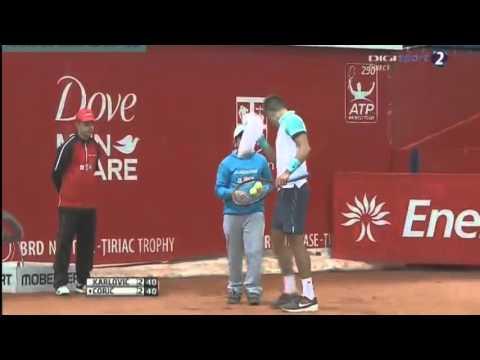 Ivo Karlovic vs Borna Coric FULL MATCH Bucharest 2015 PART 1