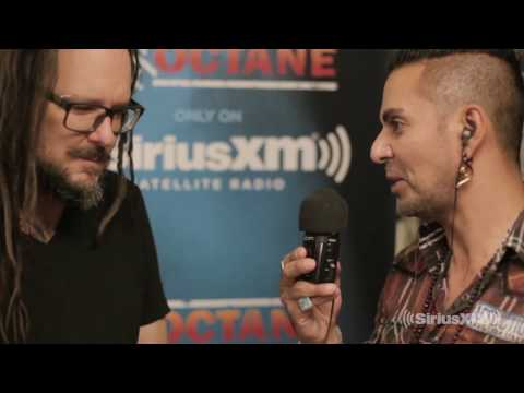 Korn - Jonathan Davis & Jose Mangin Interview (Sirius XM Live)
