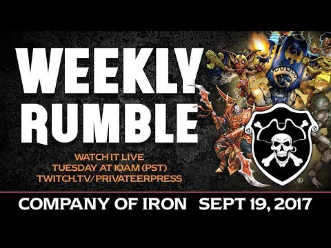 Battle to the Last: Company of Iron - Sept 19, 2017