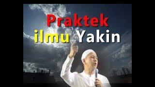 Masya Allah !!   Berbagi pengalaman Praktek Ilmu Yakin Habib Novel Alaydrus