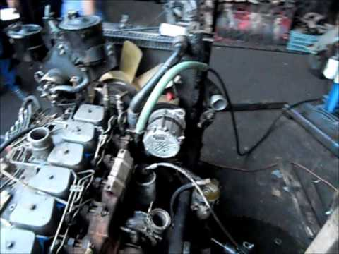 Motor Cummins Serie B 5 9 6bta Youtube