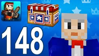 Pixel Gun 3D - Gameplay Walkthrough Part 148 - Royal Chests (iOS, Android)