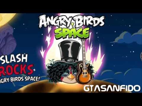 Angry Birds Space - New Theme Rock Slash Bird