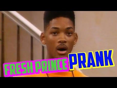 FRESH PRINCE PRANK ( Street Karaoke ) - Jokah Tululu
