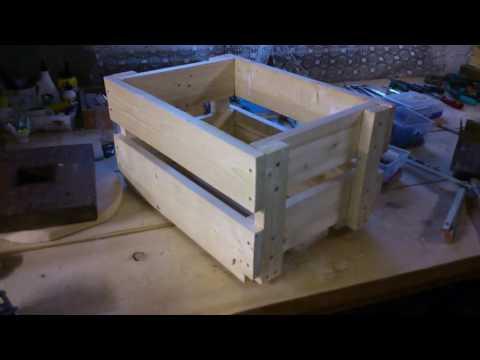 Простой деревянный ящик своими руками.