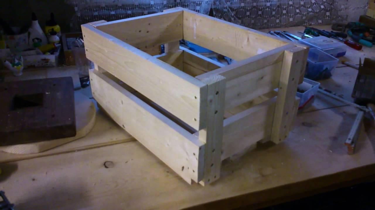 Деревянный ящик для цветов своими руками фото 266