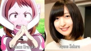 My Hero Academia - Voice Actors (Japanese)