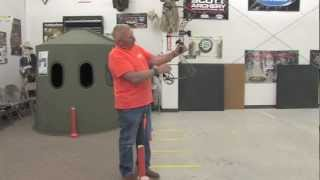 archery tip of the week   proper form stance and grip when shooting a bow