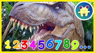 counting with dinosaurs educational and fun video about jurassic dinosaurs and numbers