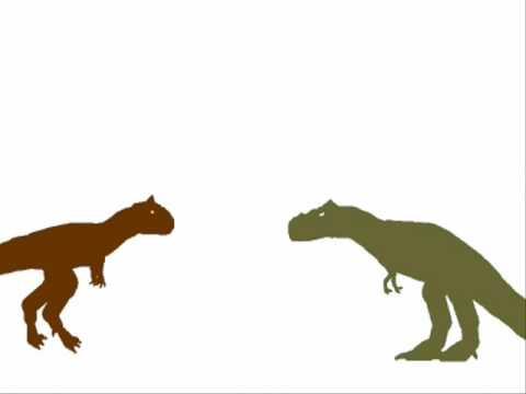 PDFC - Albertosaurus vs Carnotaurus