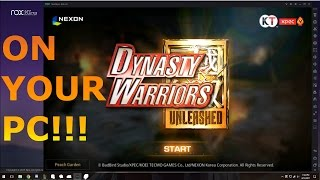 EMULATING MOBILE GAMES ON PC| Dynasty Warriors Unleashed