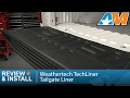 2015-2017 Ford F-150 Weathertech TechLiner Tailgate Liner Review & Install