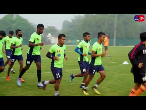Delhi Dynamos F.C. Training session: 30-11-2017