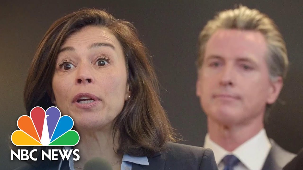 California Governor Says 'None Of This Is Easy' After State Health Director Resigns   NBC News NOW